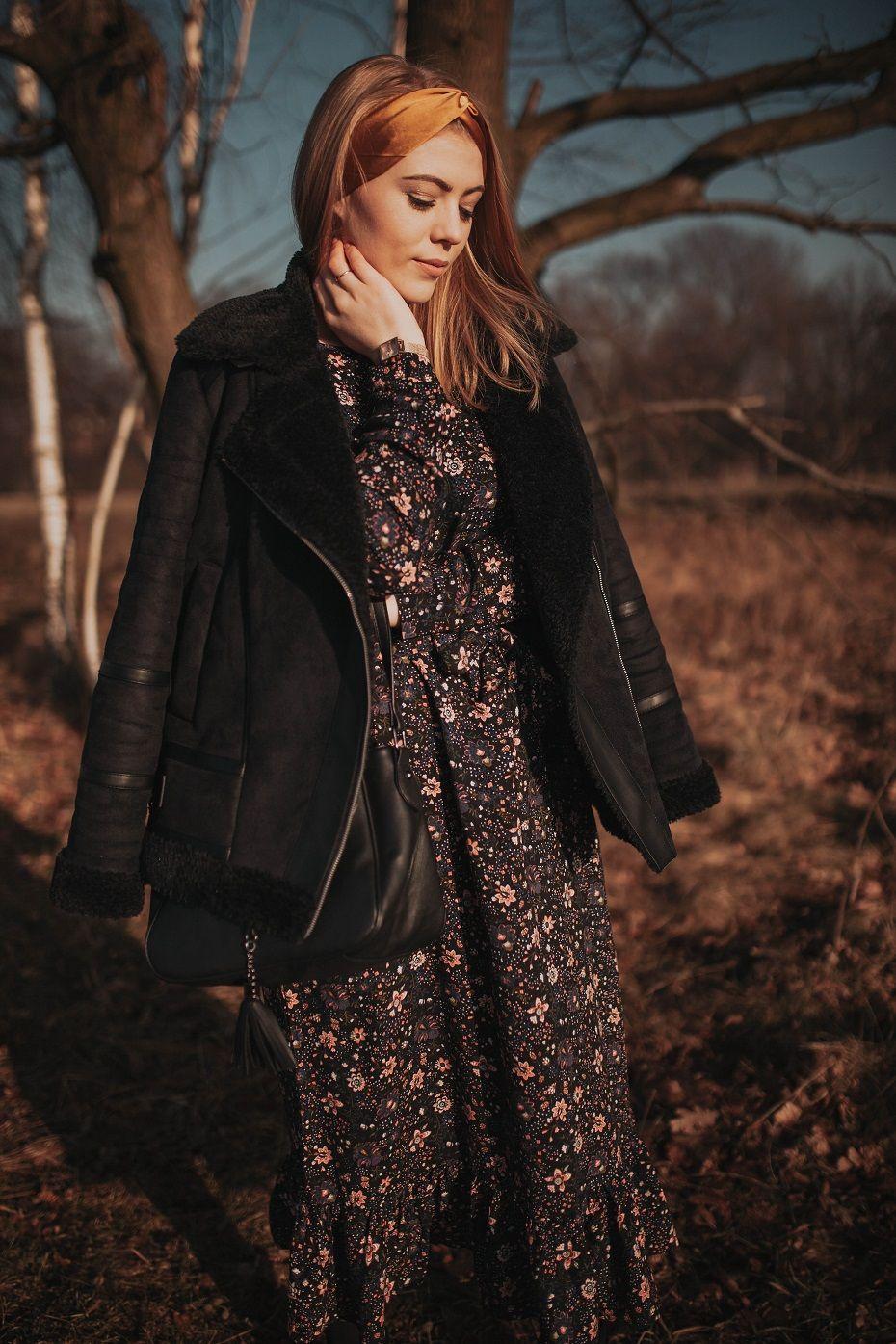 Sukienka W Kwiaty Wiosenna Stylizacja Carry Rozalia Fashion Victorian Dress Style