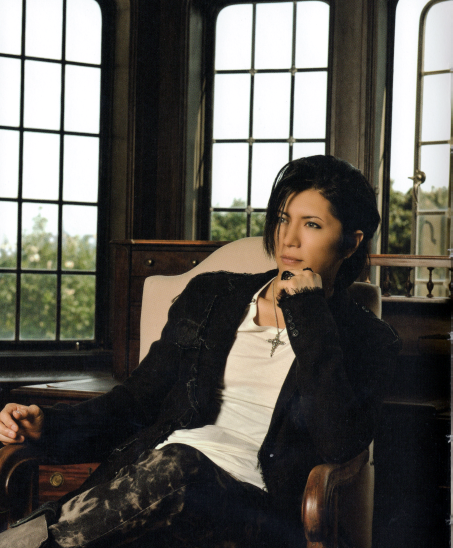 "Today's pick for ""A Gackt a day"" is this sexy photo of him:"
