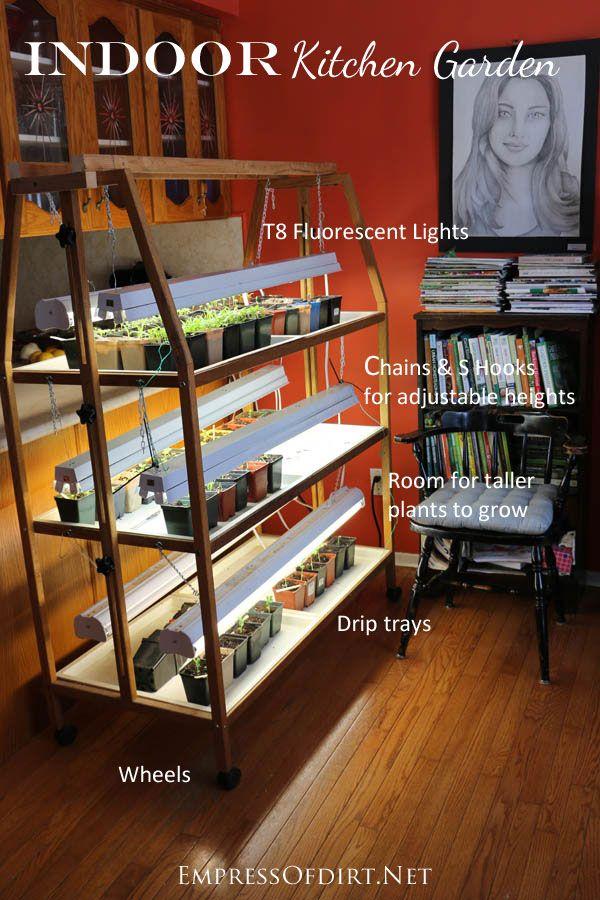 Grow An Indoor Kitchen Garden Indoor Vegetable Gardening 400 x 300
