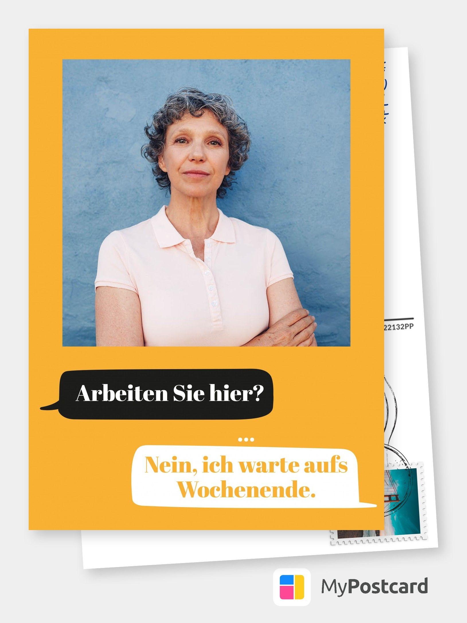Postkarte Spruche Humor Zwischen Einem Hab Dich Lieb Und Einem
