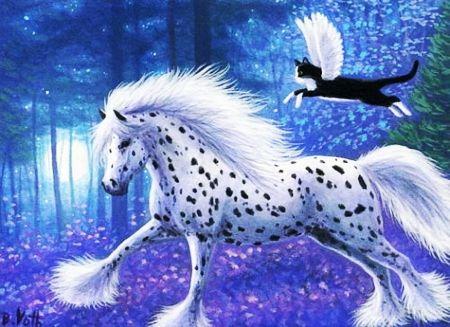 Fantasy Forest Desktop Nexus Wallpapers Fantasy Horses Horse Wallpaper Horses Beautiful wallpaper desktop horse