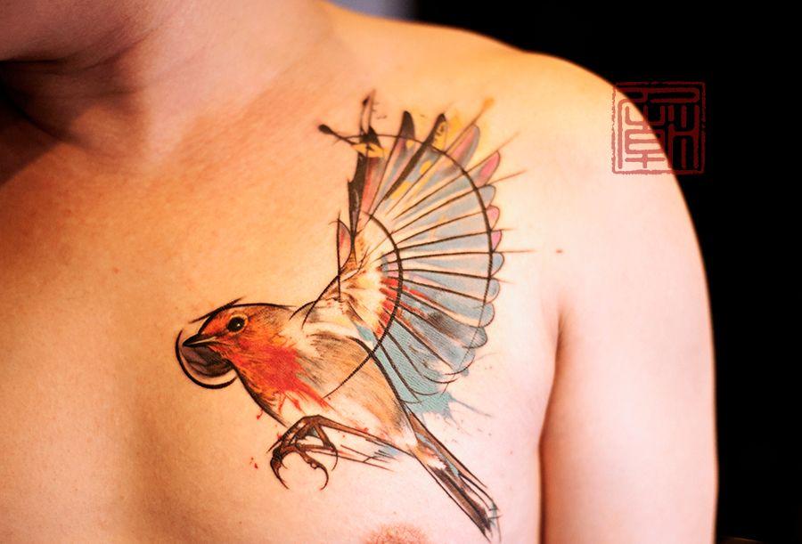lovely little bird tatouages pinterest tatouages belle peau et inspiration. Black Bedroom Furniture Sets. Home Design Ideas
