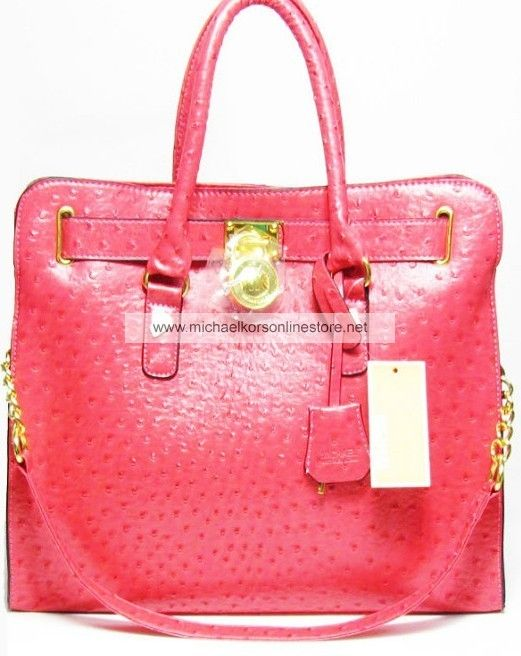 8b36179234de ... gloden 3306c 341ae; purchase michael kors outlet handbags large  hamilton ostrich embossed 4a673 78293