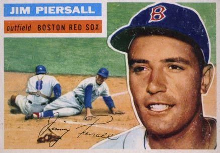 1956 Topps Jim Piersall 143g Baseball Card Value Price Guide Baseball Card Values Baseball Cards Baseball Cards For Sale