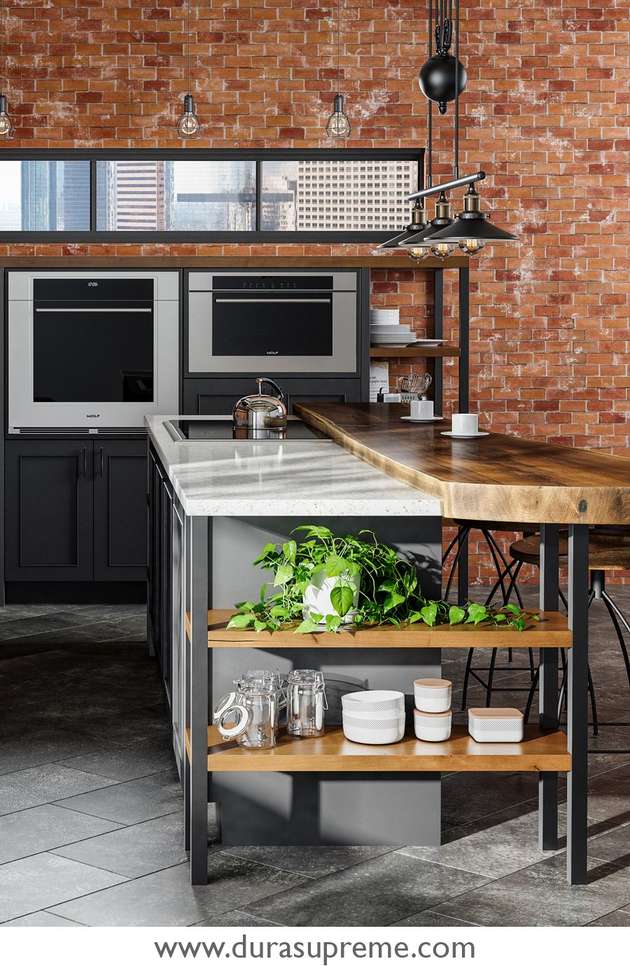 Kitchen Stories A Lofty Take On Industrial Style Industrial