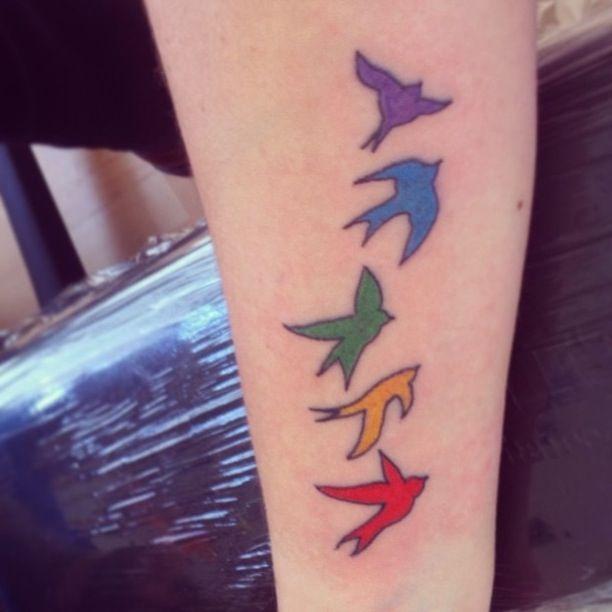 from Brixton gay color birdhouse