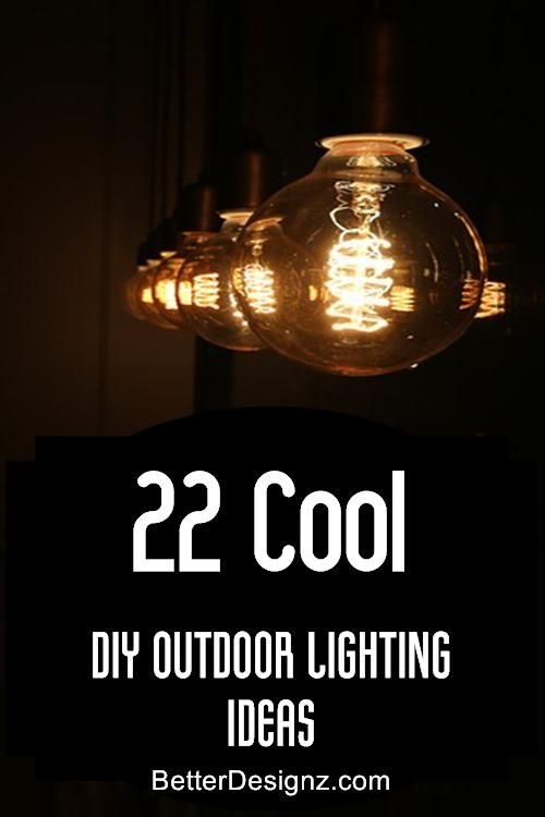 22 cool diy outdoor lighting ideas gardeninging tips decorations 22 cool diy outdoor lighting ideas mozeypictures Image collections