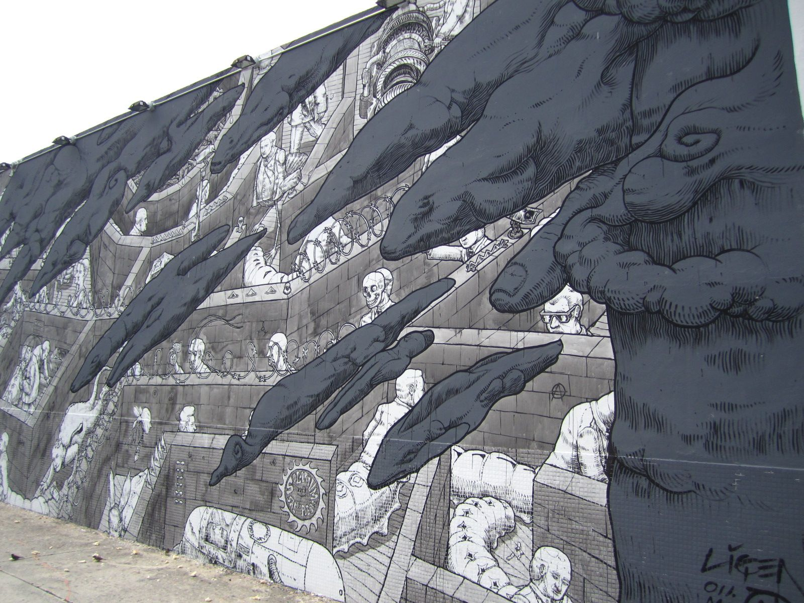 Wynwood Walls. Would love this artist to do a wall in my apartment.