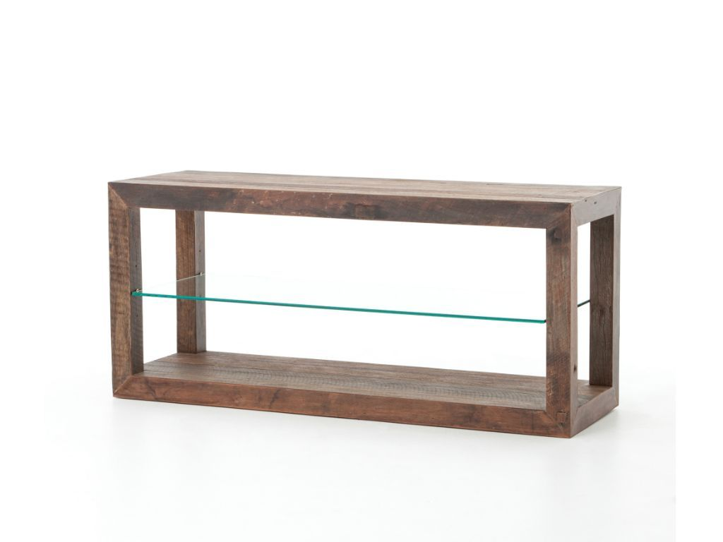 Kendrick Media Console - Natural Australian Hardwood