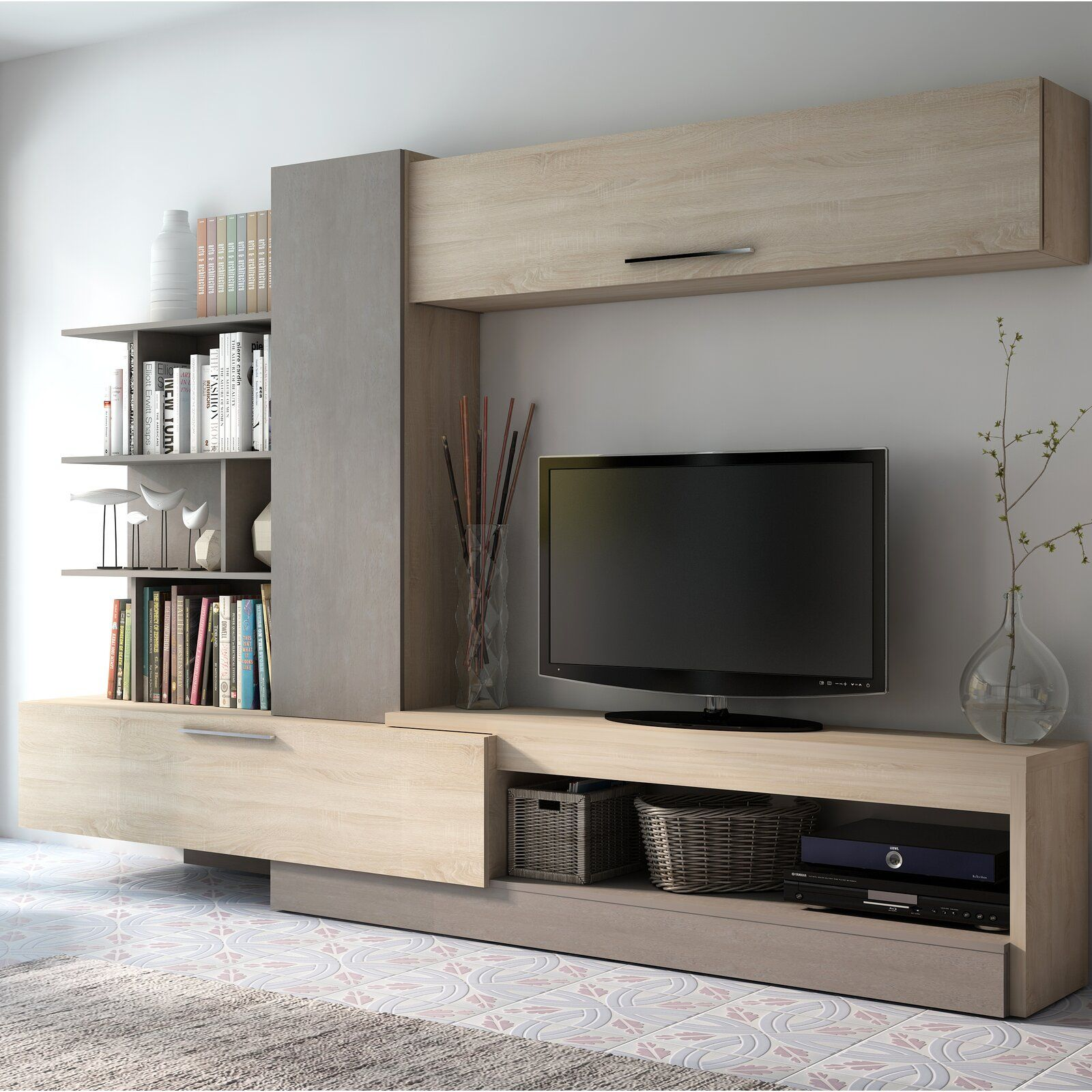 Malinowski Entertainment Center for TVs up to 65 inches ...