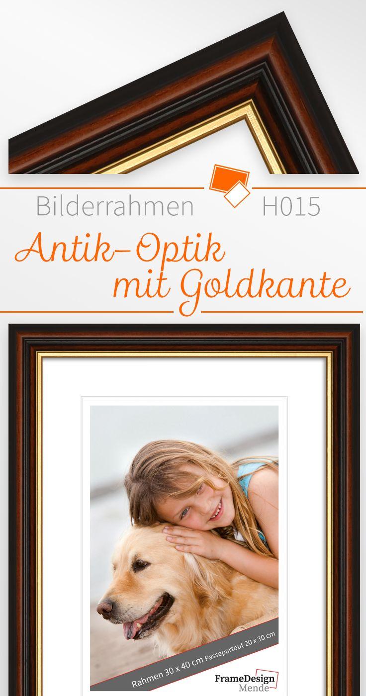 Bilderrahmen H015 Antiik aus Massivholz | Bilderrahmen | Pinterest ...