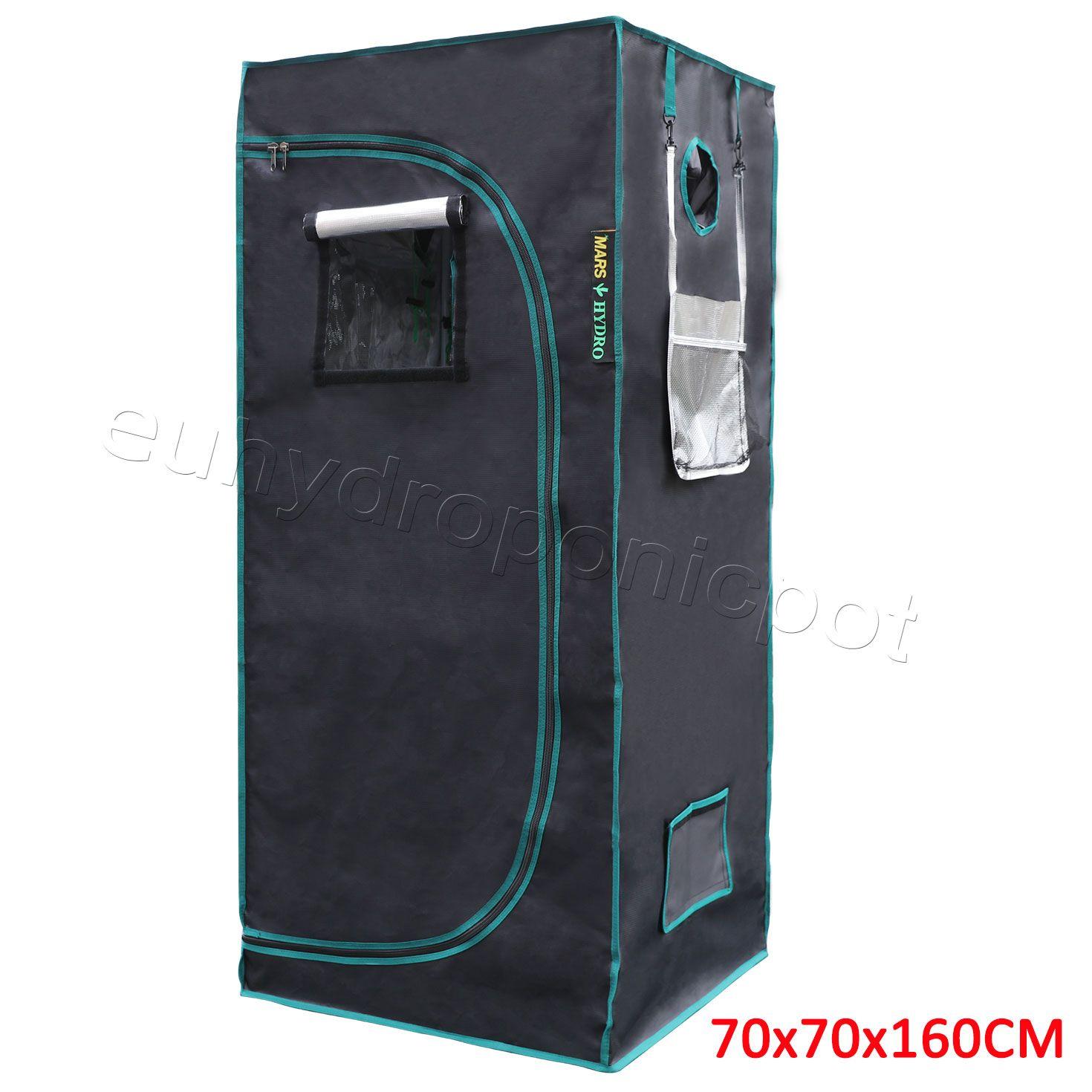 70x70x160cm Indoor Grow Tent Reflective Mylar Hydroponics Home Box Room 1680D  sc 1 st  Pinterest & 70x70x160cm Indoor Grow Tent Reflective Mylar Hydroponics Home Box ...