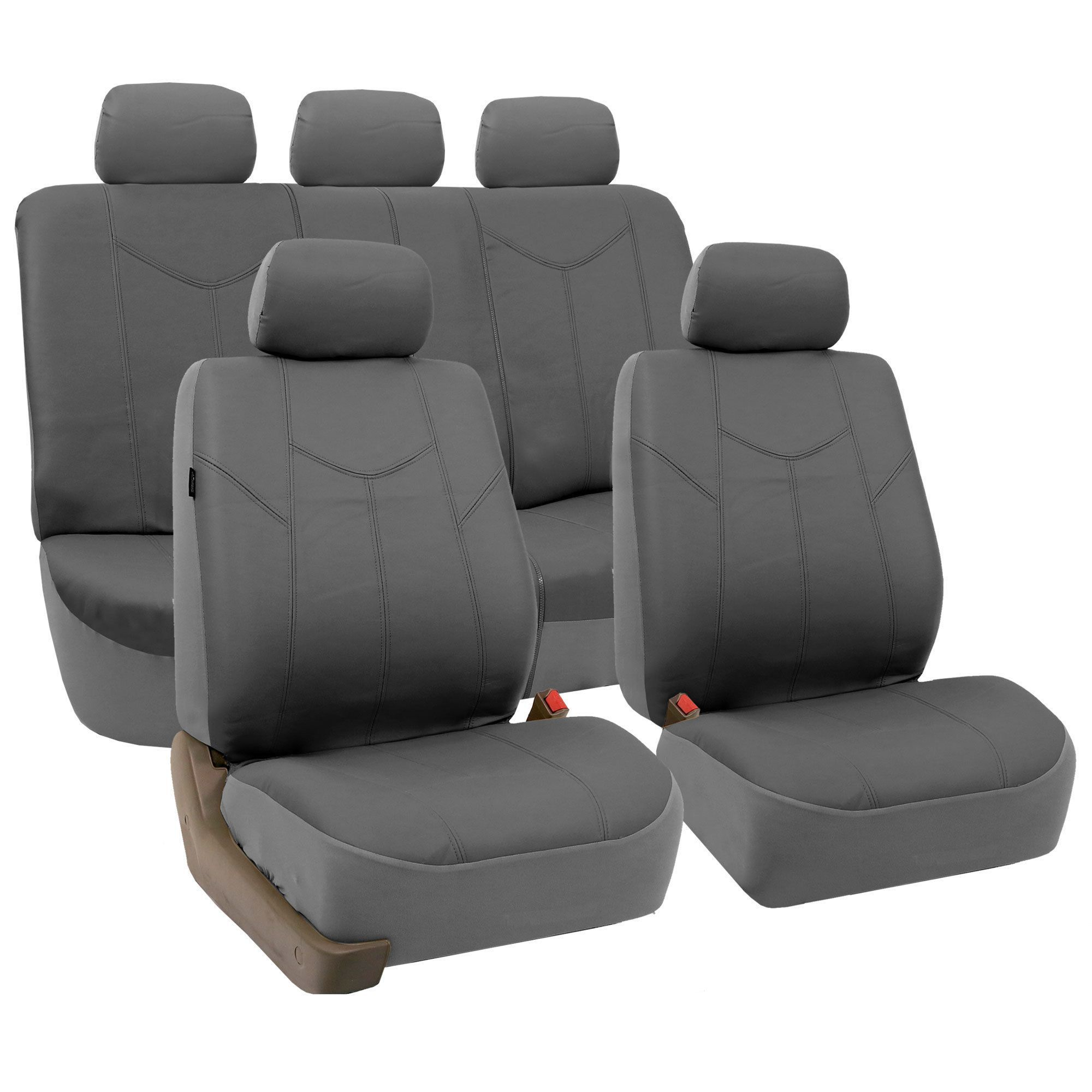 FH Group Airbag-compatible PU Seat Covers