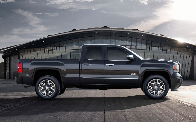 2014 Gmc Sierra Side View This Is The Ext Cab Not The Crew Has 4