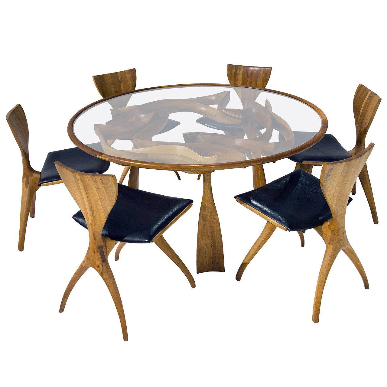 Jack Rogers Hopkins Dining Set 1stdibs Com Antique Dining Room Sets Furniture Modern Dining Room Set