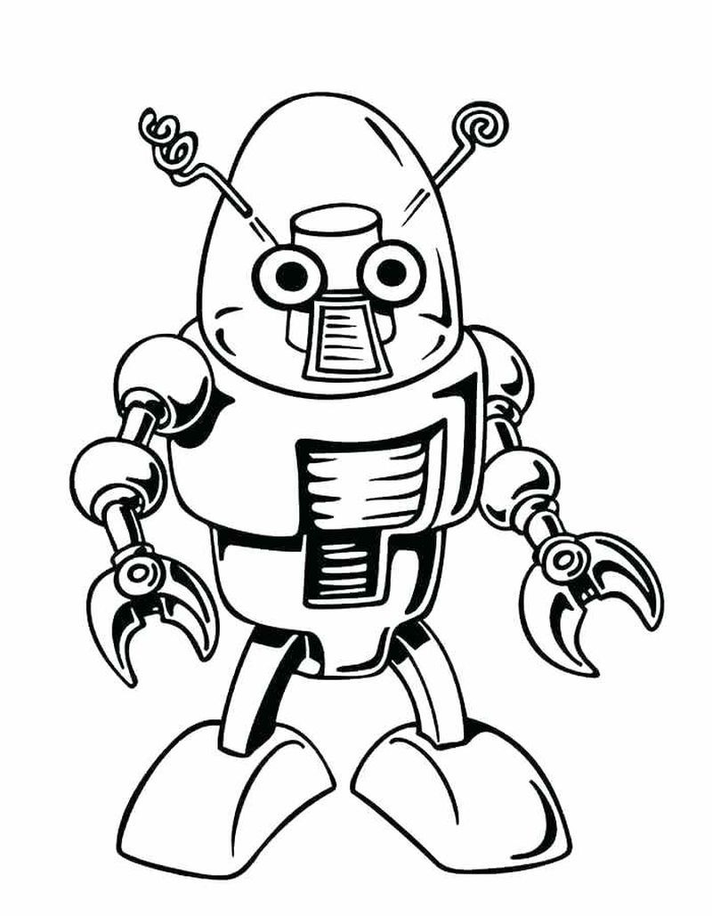 Robot Coloring Pages Dinosaur Coloring Pages Coloring Pages For