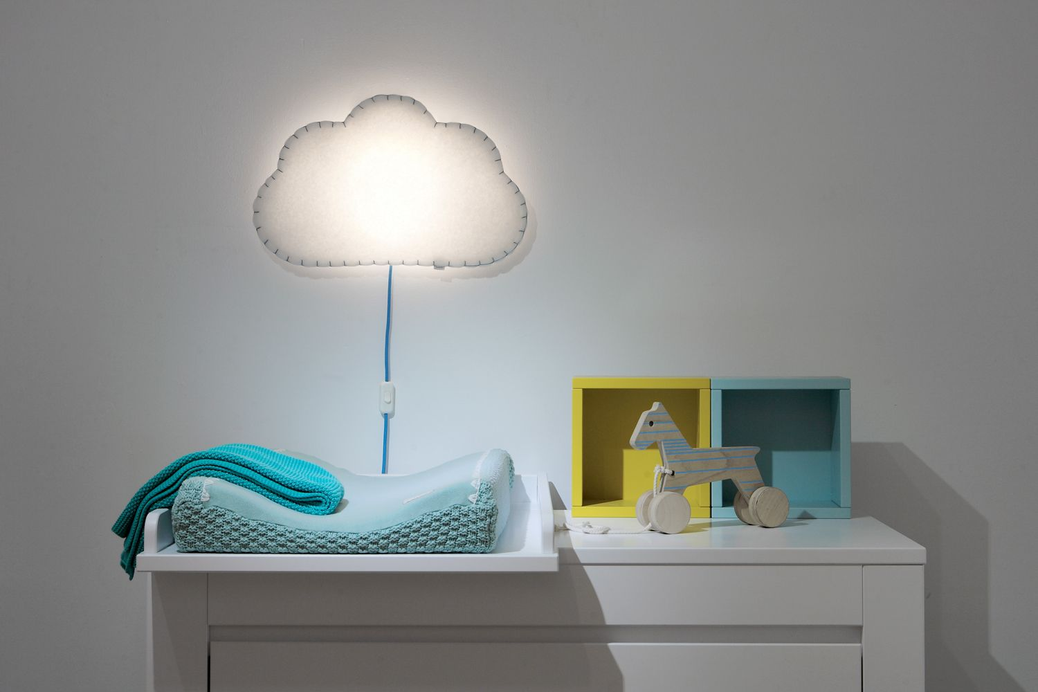 kids wall lighting. Soft Textile Cloud Wall Lamp, Gorgeous Ambient Light For A Nursery, Available In Different Colors, Kids Lighting