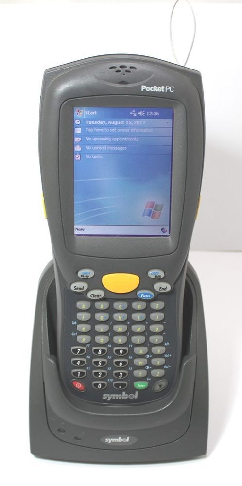 Symbol Pocket Pc Model La412t With Cradle Power Supply And Cables