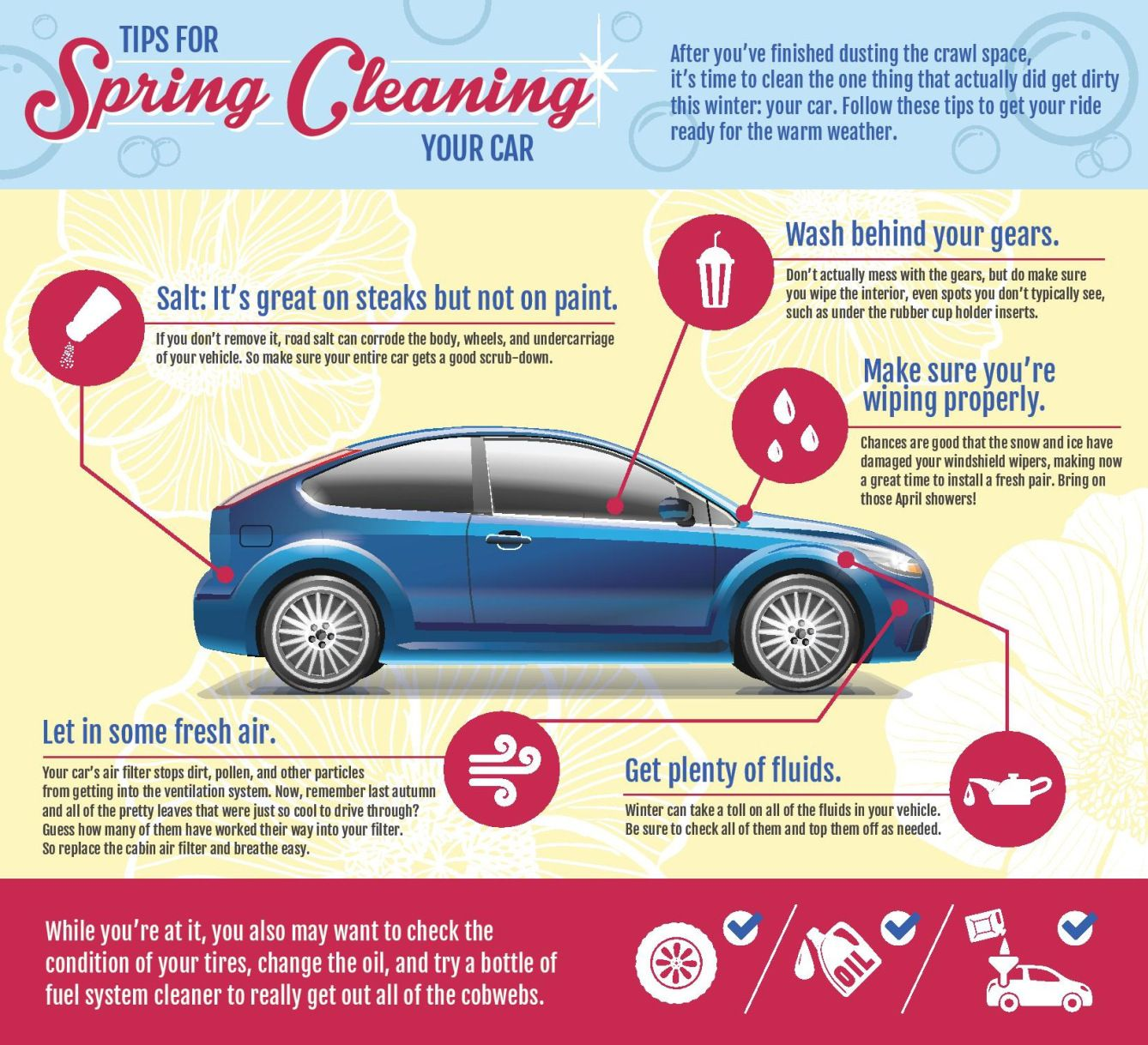 car detailing at home - your spring clean checklist | good