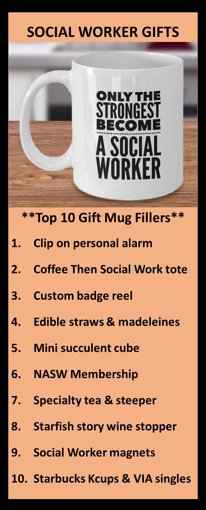 Social Worker Gifts Only The Strongest Become A Social Worker Birthday Gift Mug For Coffee Tea Social Worker Gifts Gifts In A Mug Mugs