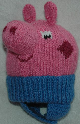 aa598ea7fee Peppa pig hat (looks like) knitting pattern