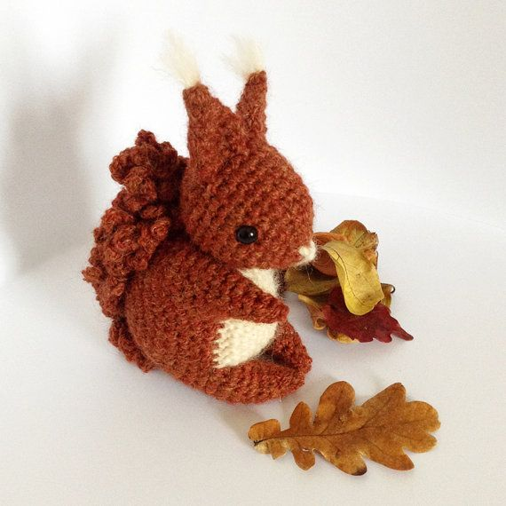 Coco The Squirrel - Amigurumi Pattern | Häkeln, Amigurumi und Häkeltiere
