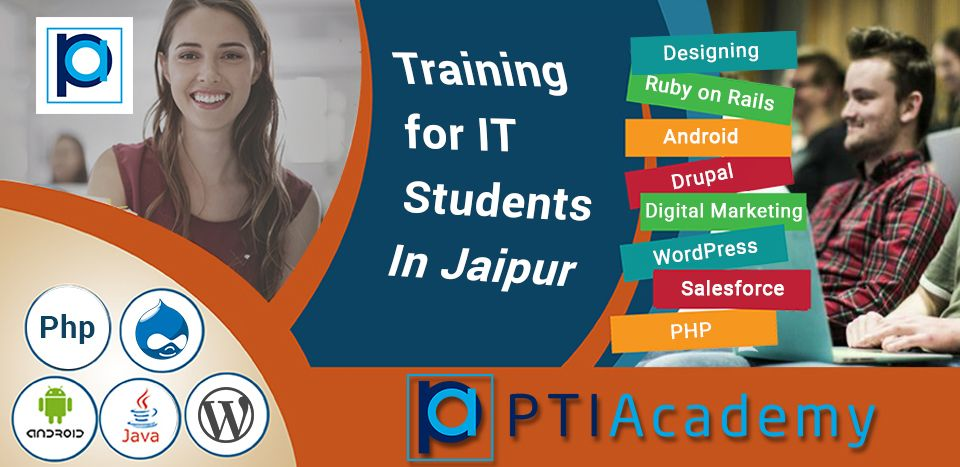 There is a great news for Jaipur student, PTI Academy one of