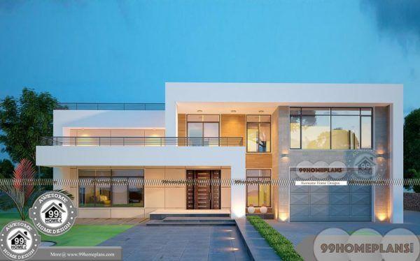 Arabic Villa Design Plans Double Floor Simple And Perfect Home Plans Villa Design Kerala House Design Four Bedroom House Plans