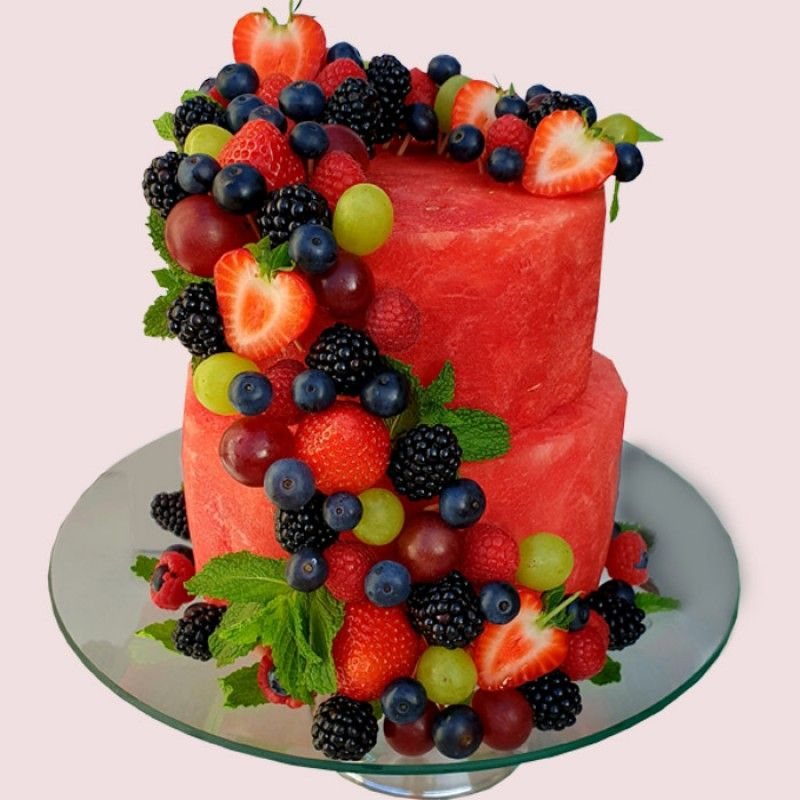Watermelon Fruit Cake | Edible Arrangements | Fruit Gift