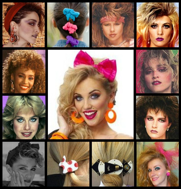 1980s Hair Dressing And Accessories 1980s Hair 1980 S Hair 1980s Accessories