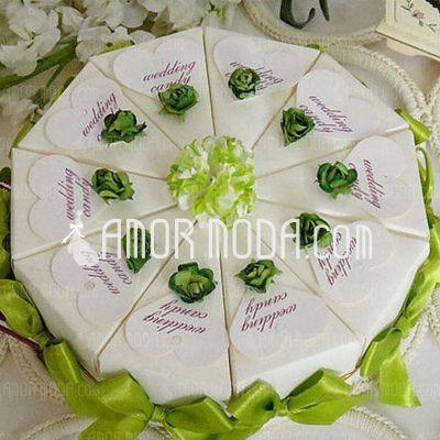 Photo of Hochzeitsbevorzugungen – $ 7.59 – Pyramid Favor Boxed with F…
