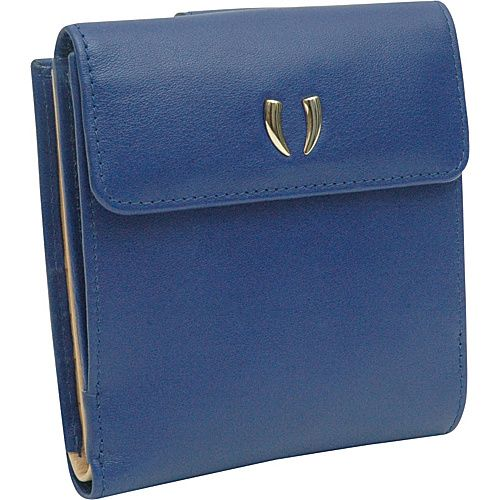 Click Image Above To Buy: Tusk Ltd Donington Gold L Shaped Indexer Wallet Iris - Tusk Ltd Ladies Cardex Wallets