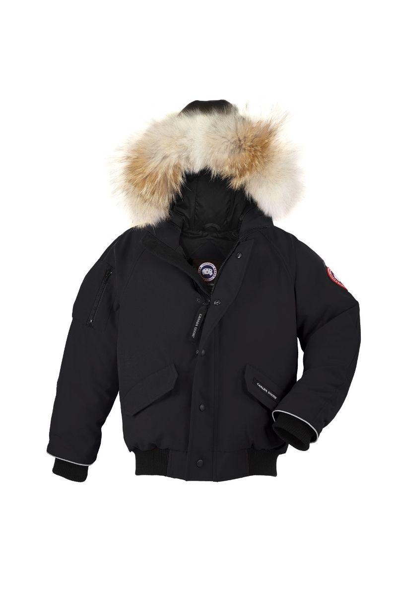 canada goose youth rundle bomber jacket - spirit