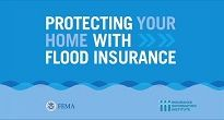 Protect your home against floods with flood insurance. www.kittybootgates.com