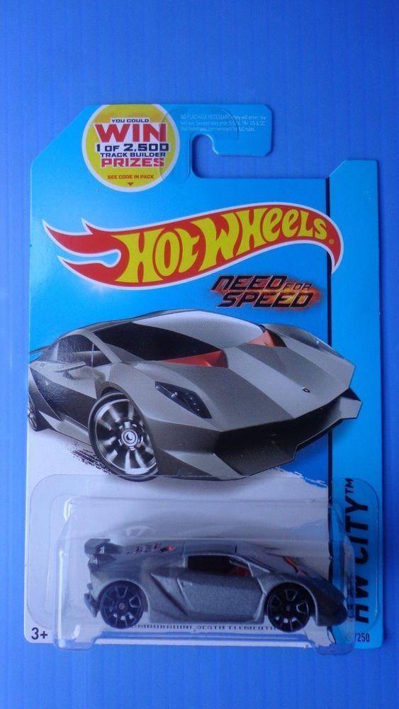 2014 Hot Wheels Lamborghini Sesto Elemento Hw City !!! #HotWheels # Lamborghini