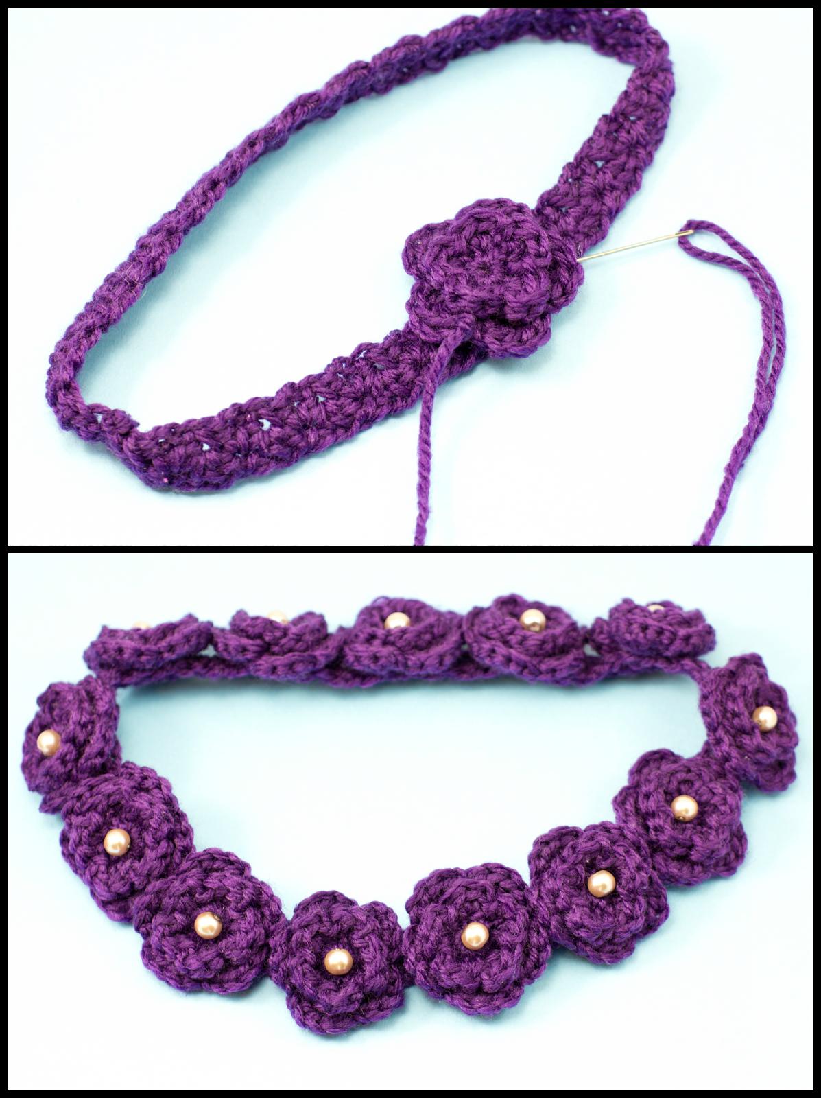 Daisy flower crown crochet pattern hopeful honey flower crowns daisy flower crown crochet pattern izmirmasajfo
