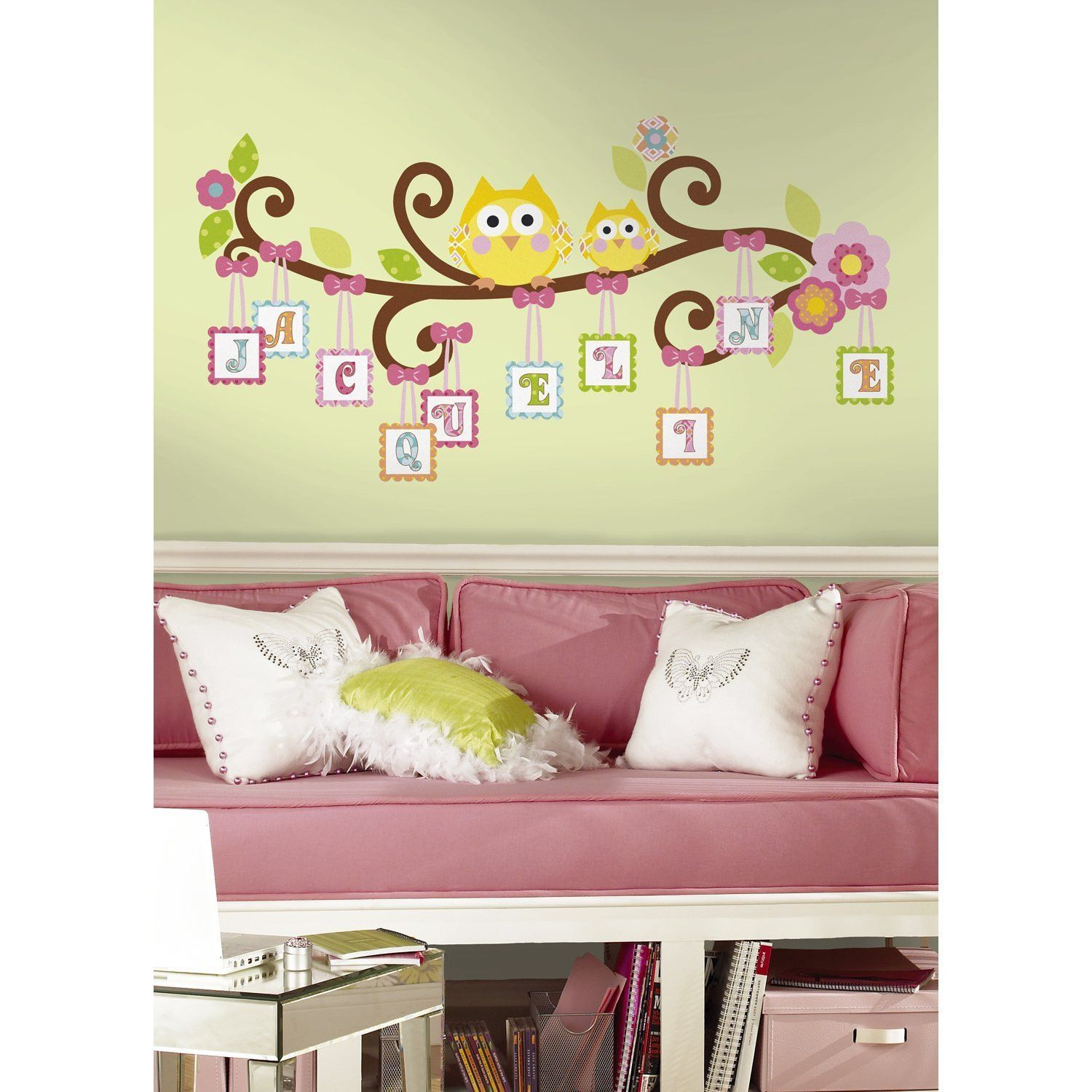 Scroll Tree Letter Branch Wall Decals   Products   Pinterest ...