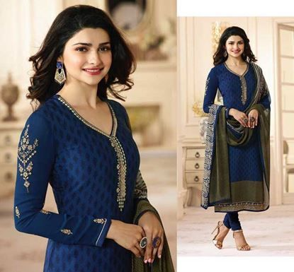 ed64efef43 Show details for Original Indian Dress Set - Vinay Royal Crepe 6460 ...