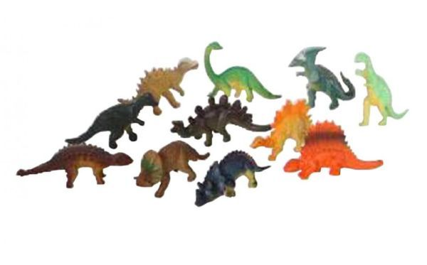 Set 12 dinozauri de jucarie