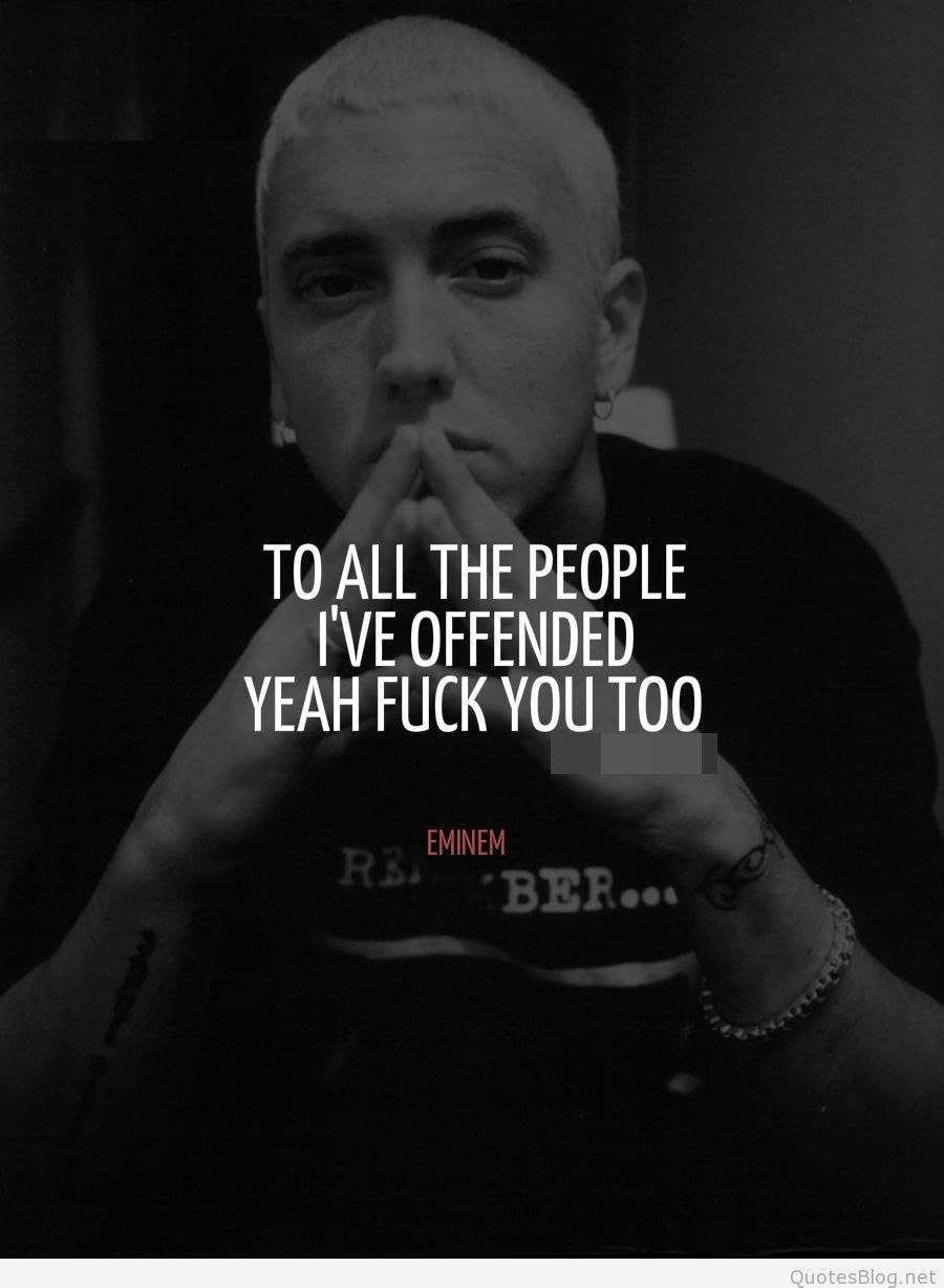 Quotes Eminem Fascinating Eminemquoteseminemtumblrquotes25Mediatumblrtumblr