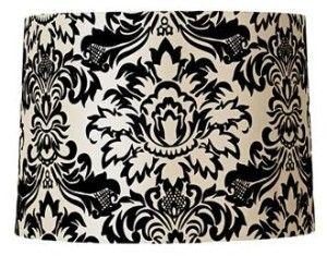 black white floral lamp shade | texture & pattern love | Pinterest ...
