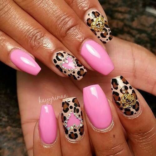 Pin by (636) 649-0787 on Nails | Long nail designs, Pink