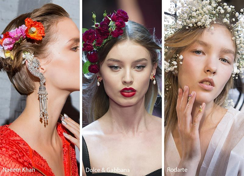 Spring/ Summer 2018 Hair Accessory Trends: Flower Crowns