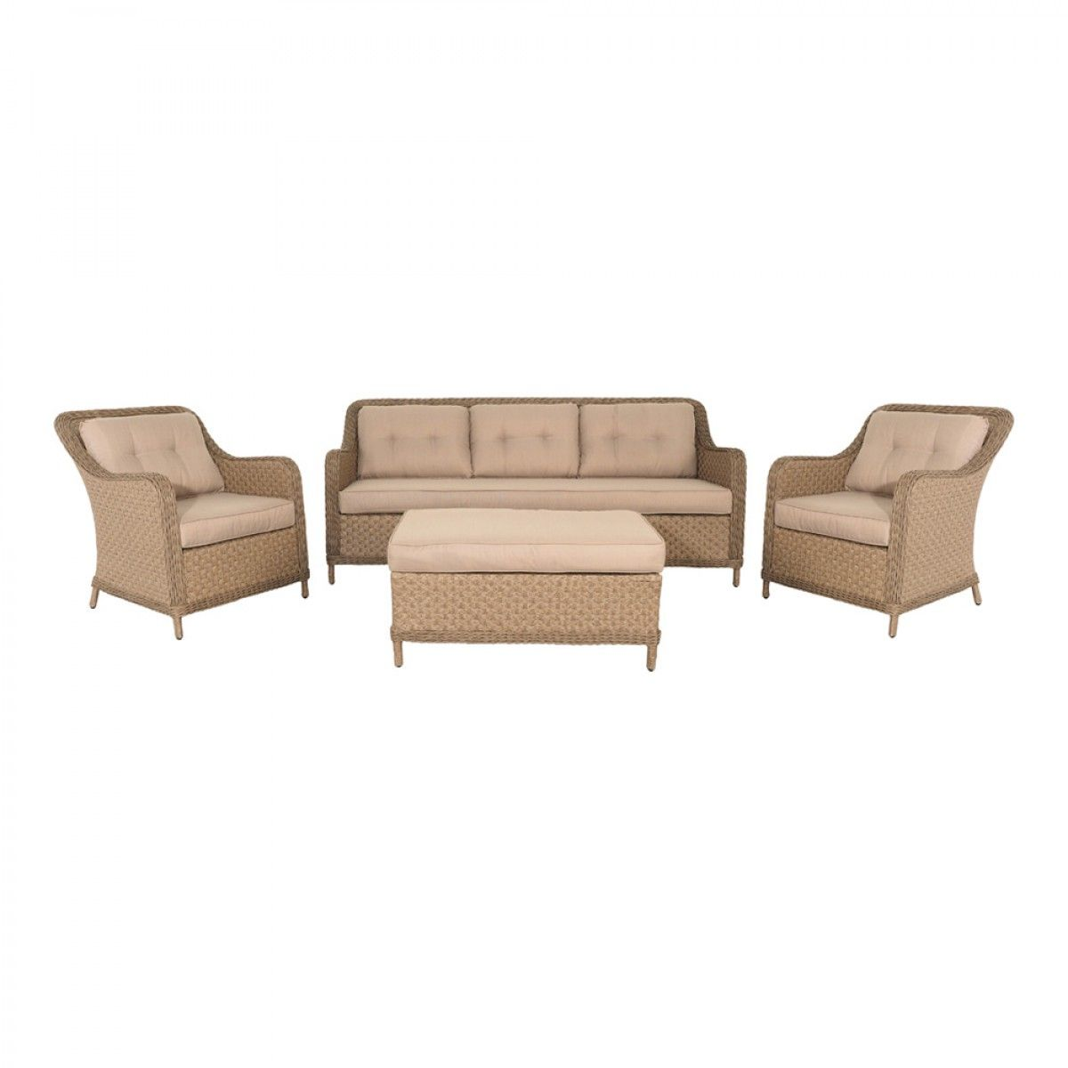 Harlow Two Sofa Set 4 Piece Clearance Sofa Set Outdoor