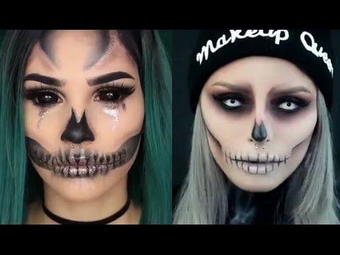 MAQUILLAJES INCREIBLES PARA HALLOWEEN Amazing Halloween Makeup ...