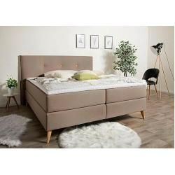 The boxspring beds -  andas Boxspringbett Namsos in 4 widths including topper 3 mattresses andasandas  - #