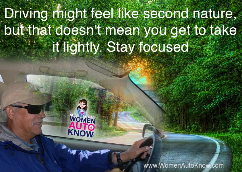Wisdomwednesday Www Womenautoknow Com Wak Stay Focused Women