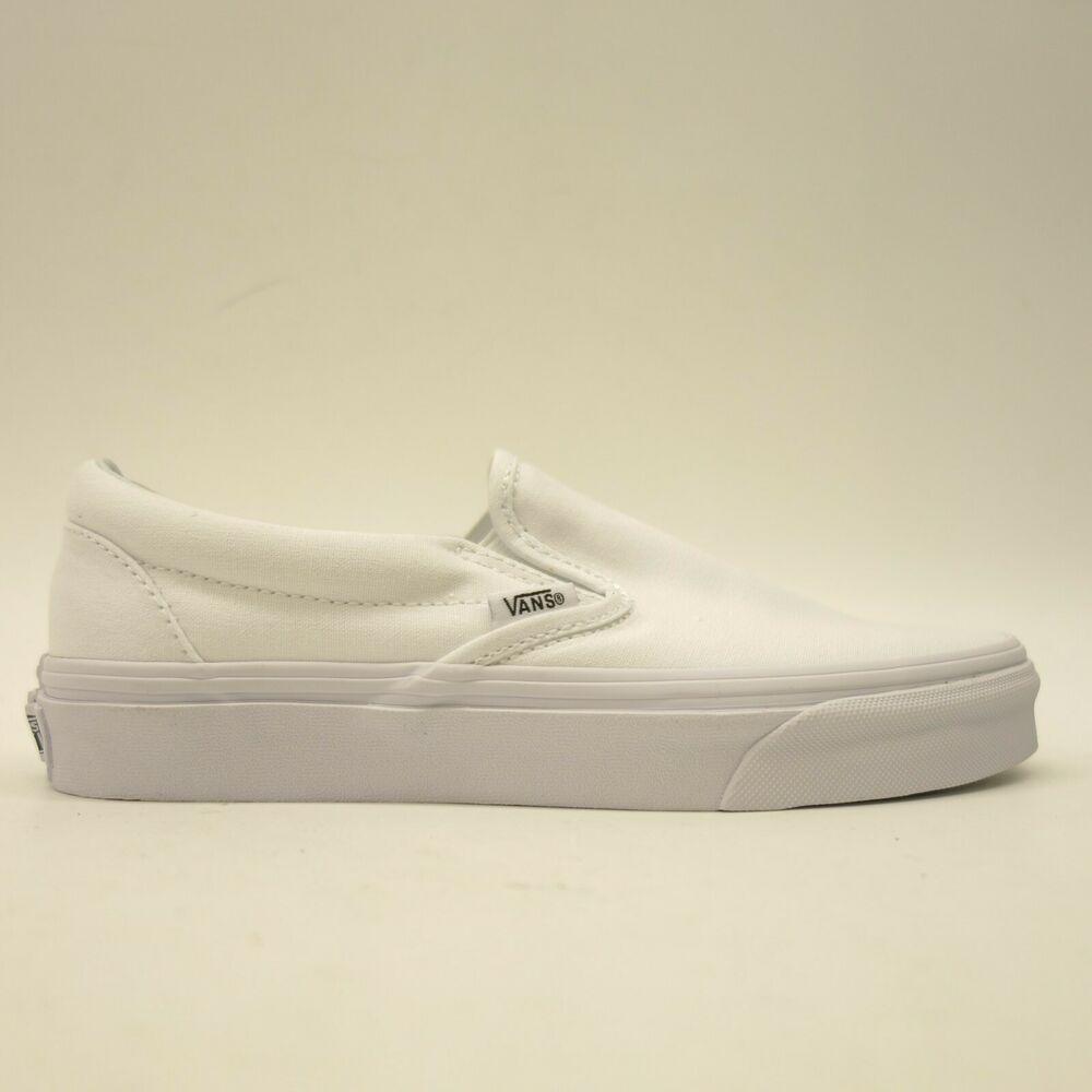 Vans Womens Size US 7 EU 37 True White