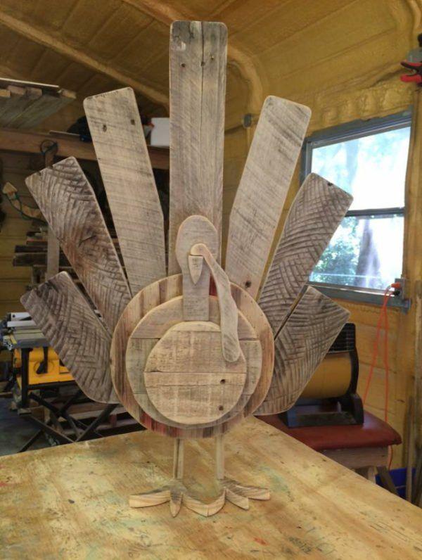 15 Terrific Pallet Thanksgiving Craft Ideas Fall Decor Pallet