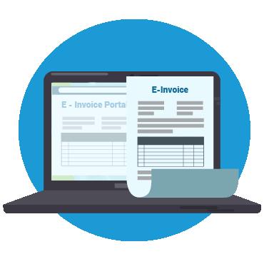 نموذج فاتورة مشتريات Invoice Template و طرق تصميمها من سكاي سوفت Wellness Invoicing